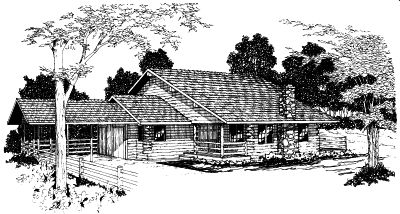 Ranch Style House Plans Plan: 17-381