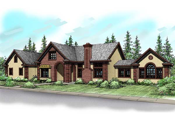 Traditional Style Floor Plans Plan: 17-388