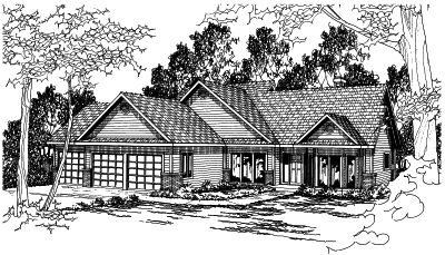 Traditional Style House Plans 17-394