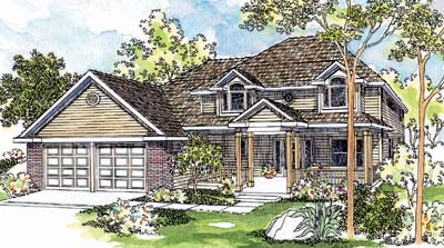 Traditional Style Floor Plans Plan: 17-395