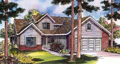 Traditional Style House Plans Plan: 17-397