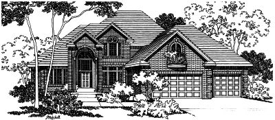 Traditional Style House Plans Plan: 17-401