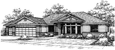 Traditional Style House Plans Plan: 17-403