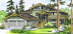 Mountain-or-Rustic Style Floor Plans Plan: 17-406