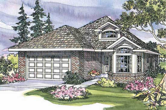 Traditional Style House Plans Plan: 17-408