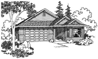 Traditional Style Floor Plans Plan: 17-432