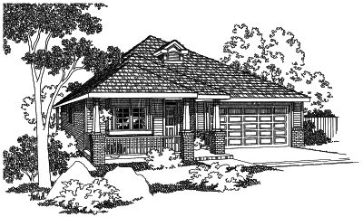 Traditional Style Floor Plans Plan: 17-433