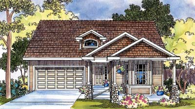 Craftsman Style House Plans 17-442