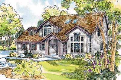 Traditional Style Floor Plans Plan: 17-443