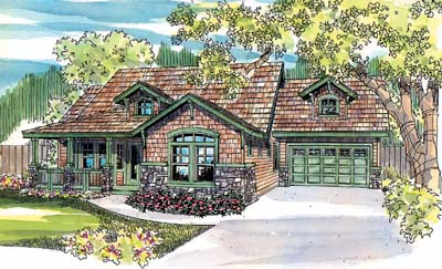 Craftsman Style House Plans Plan: 17-445