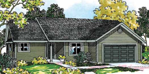 Ranch Style House Plans Plan: 17-447