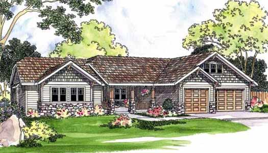Craftsman Style House Plans Plan: 17-450