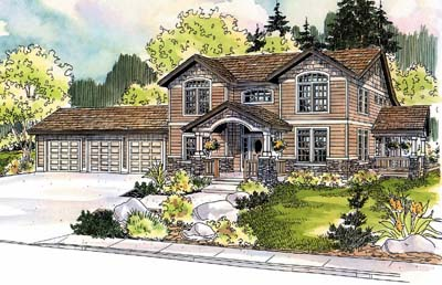 Craftsman Style House Plans Plan: 17-457