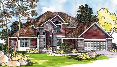 Traditional Style House Plans Plan: 17-463