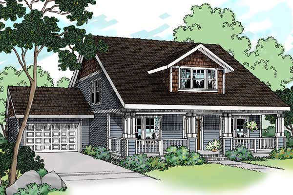Craftsman Style House Plans Plan: 17-467