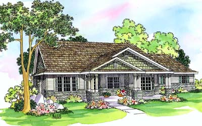 Craftsman Style Floor Plans Plan: 17-468