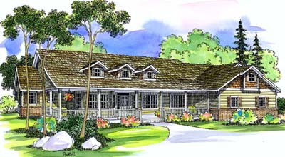 Ranch Style House Plans Plan: 17-472