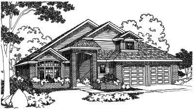 Northwest Style House Plans Plan: 17-473