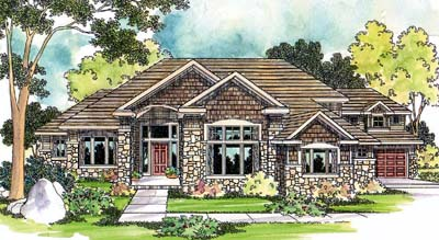 Traditional Style House Plans Plan: 17-474