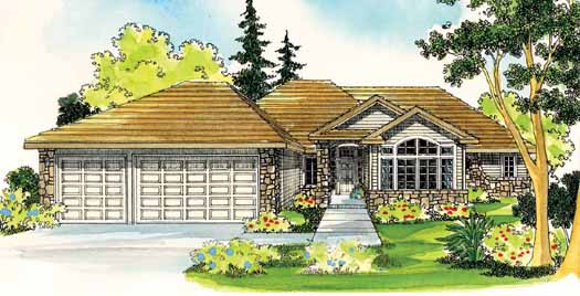 Traditional Style Home Design Plan: 17-479