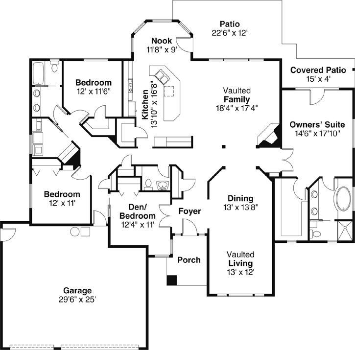 Main Floor Plan: 17-479