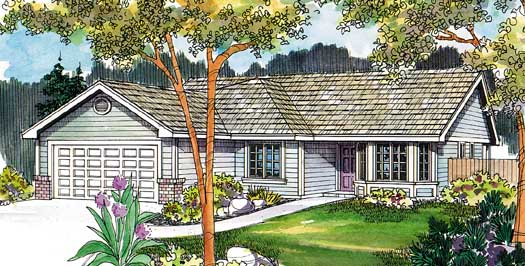 Traditional Style Floor Plans 17-494