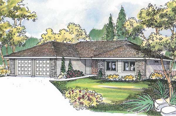 Ranch Style House Plans Plan: 17-495