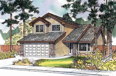 Northwest Style Floor Plans Plan: 17-497