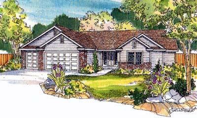 Traditional Style Home Design Plan: 17-501