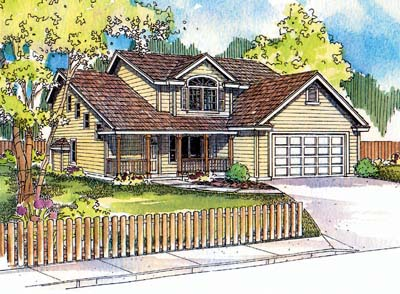 Traditional Style House Plans 17-502