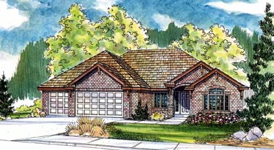 Traditional Style House Plans Plan: 17-504