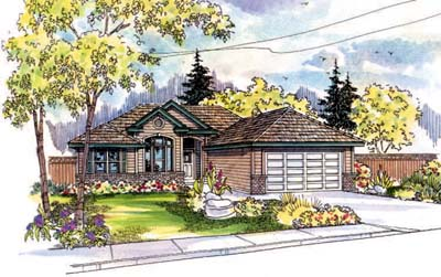 Traditional Style House Plans Plan: 17-505