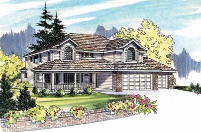 Northwest Style House Plans Plan: 17-506