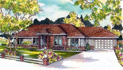 Traditional Style Floor Plans Plan: 17-511