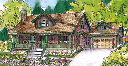 Craftsman Style House Plans Plan: 17-512