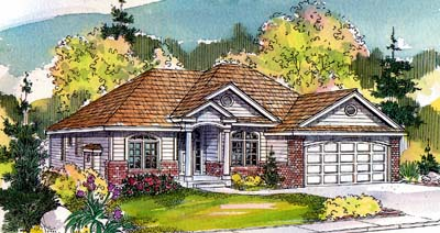 Traditional Style Floor Plans Plan: 17-514