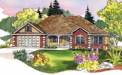 Traditional Style Floor Plans Plan: 17-516