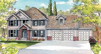 Traditional Style Floor Plans Plan: 17-518