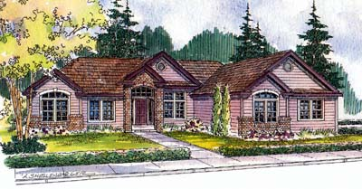 Traditional Style Floor Plans Plan: 17-519