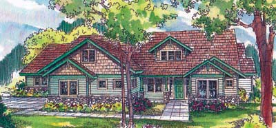 Craftsman Style House Plans Plan: 17-520