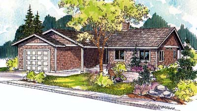 Traditional Style Floor Plans Plan: 17-521