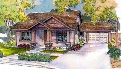 Craftsman Style House Plans Plan: 17-524