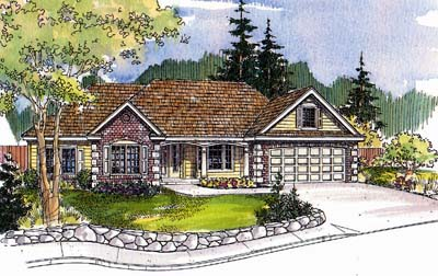 Traditional Style Floor Plans Plan: 17-525