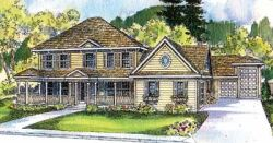Country Style House Plans Plan: 17-527