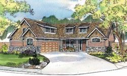 Country Style House Plans Plan: 17-532