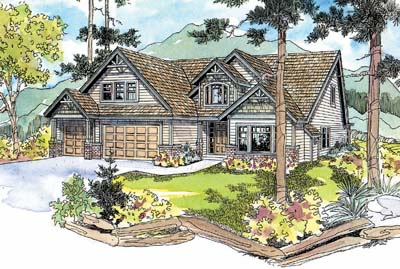 Craftsman Style House Plans Plan: 17-542