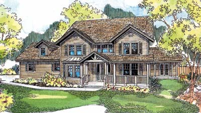 Country Style House Plans Plan: 17-544