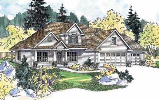 Craftsman Style House Plans Plan: 17-547