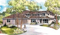 Contemporary Style House Plans Plan: 17-548