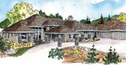 Traditional Style Home Design Plan: 17-552